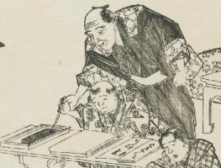 寺子屋で教えてたのは、漢字だらけの書道ですか?のイメージ